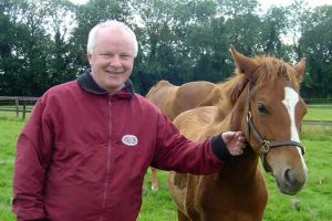 Heatherwold Stud owner Mike Caddy