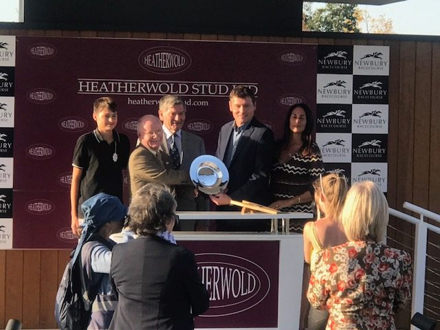 preentation to bear force one connections heatherwold stud handicap newbury september 2019